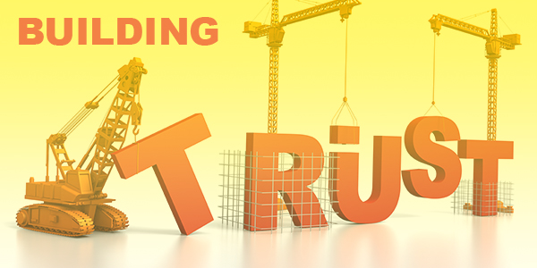 trust through construction marketing