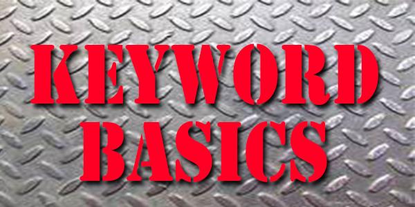 Industrial Marketing Keywords